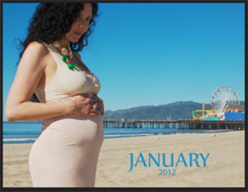 calendar january 2012. Calendar, Miss January